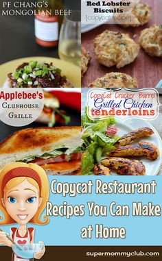 Copycat Recipes You Can Make at Home - Pin it for later