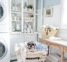 Traditional Laundry Room and Mud Room Design Ideas Resources and Humor Quotes! Traditional Laundry Room and Mud Room Design Ideas Resources and Humor Quotes! Country Interior Design, Interior Design Inspiration, Design Ideas, Country Interiors, Bedroom Interiors, Laundry Room Storage, Laundry Room Design, French Farmhouse Decor, French Country
