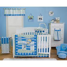 "Trend Lab Dr. Seuss Oh, the Places You'll Go! 6-Piece Crib Bedding Set - Blue - Trend Lab - Babies ""R"" Us"