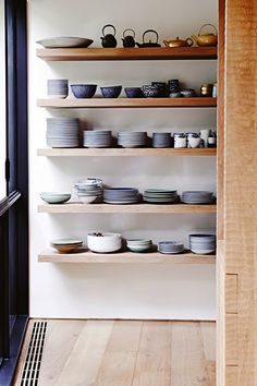 Gorgeous kitchenware on display | Lisa Cohen via Vogue Living