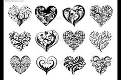 10072-12-tattoo-hearts-stock-vector-tattoo-design-480x320.jpg 480 × 320 pixlar