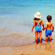 Colección bañadores niños Mónaco de caballitos de  mar