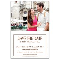 simple style save the date cards walmart stationery another delicate frame save the date cards walmart stationery
