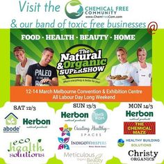 Find #ChristyOrganics at #Melbourne Convention & Exhibition Centre tomorrow (14 March, Monday) between 10am-3pm at Chemical Free Community (@chemfreecom) - Stand No. 1603. Call mobile 0450 225 606 if you can't find us. We will be there ONE day only! www.christyorganics.com #ScentsThatTranscend Designed with layers of notes that unfold and evolve on your skin, it creates a unique experience while transforming into a scent that is uniquely yours. ★ Vegan ★ Cruelty-Free ★ 100% Natural