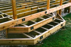 Pressure Treated 4x4 Pier Foundation Deck Staircase