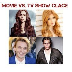 Movie vs. TV: Clace MOVIE WINS. NO DISCUSSION POSSIBLE.