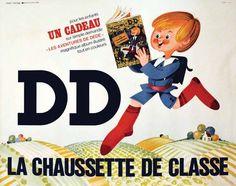 DD La Chaussette de Classe     vers 1960