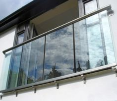 See what makes Balcony Systems Juliet balconies so popular. Juliet Balcony that has all the advantages. Balcony Glass Design, Glass Balcony Railing, Balcony Window, Bedroom Balcony, Bedroom Windows, Juliette Balcony, Glass Juliet Balcony, French Balcony, Modern Balcony
