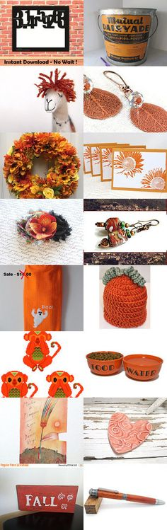 Autumn Leaves by Irina on Etsy--Pinned+with+TreasuryPin.com