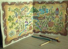 Jardim secreto/ floresta encantada / reino animal