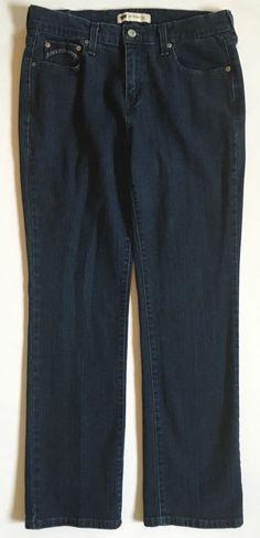 Levi's 505 Indigo Wash Straight Leg Jeans-Womens-Sz 10M #Levis #StraightLeg