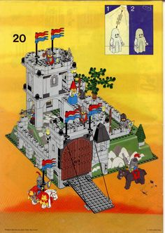 Castle - Kings Mountain Fortress [Lego 6081]