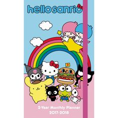 Hello Kitty 2017 Monthly  Pocket Planner