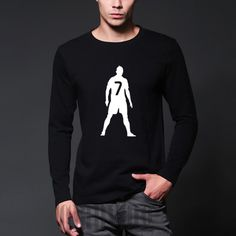 Check lastest price autumn Cristiano Ronaldo 7 men letter Print long sleeve T-Shirt 2016 streetwear o-neck tee shirt homme casual size xs-xxl just only $12.59 with free shipping worldwide  #tshirtsformen Plese click on picture to see our special price for you