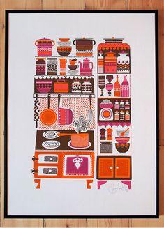 Sanna Annukka Silk Screen Prints