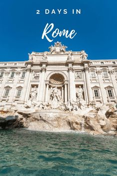 A comprehensive itinerary of the best things to do in Rome in 2 days, covering the main tourist attractions, brilliant viewpoints and hidden gems! Travel Through Europe, Europe Travel Guide, Italy Travel, Rome Travel, Italy Vacation, Places To Travel, Travel Destinations, Holiday Destinations, 2 Days In Rome