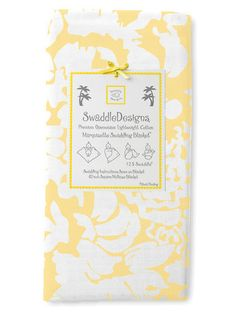 This is the softest swaddling blanket ever!  Great for swaddling during the summer when it's hot.  Lots of cute designs too, even for boys!