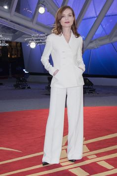 Isabelle Huppert attends the Elle Premiere during the16th Marrakech International Film Festival : Day Four on December 5, 2016 in Marrakech, Morocco.