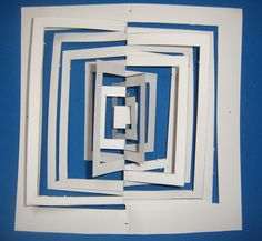"""""""Abriendo Ventanas"""" Paper. Kirigami by AHDIME."""