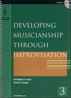 Jamey Aebersold Jazz: Developing Musicianship Through Improvisation Volume 3 - C Instruments (Treble Clef)