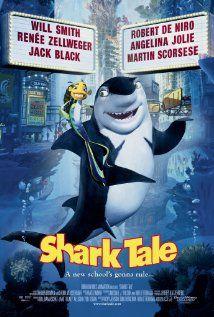 Shark Tale - September 2004 (Will Smith/Robert De Niro/Renée Zellweger/Angelina Jolie/Jack Black/Martin Scorsese) Kid Movies, Family Movies, Cartoon Movies, Great Movies, Disney Movies, Awesome Movies, Will Smith Movies, Angelina Jolie Movies, Shark Tale