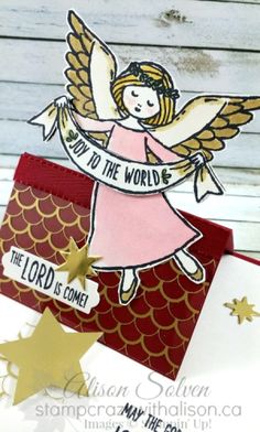 Wonder of Christmas stamp Set Easel card www.stampcrazywithalison.ca