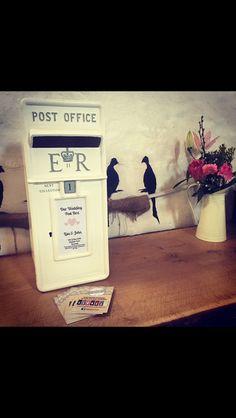 Wedding open week, June 2015. Post Box, Our Wedding, Gay, June