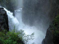 Elk River Falls Campbell River BC