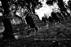 Headstones at old graveyard in Maine.  Photo by Sonia Hernandez Doneghue for Through These Eyes Visual Art.