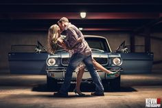 Kevin Paul Photography - Amazing couple with a beautiful Mustang!