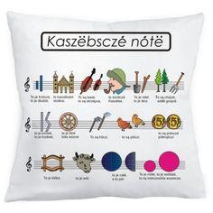 Poduszka - kaszubskie nuty :: Czec Producent i Hurtownia, Pamiątki z Polski, Książki i upominki