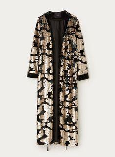 Kimono-style sequinned dress - View all - Ready to wear - Uterqüe Spain - Canary Islands