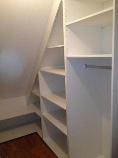 Under Stairs Cupboard Storage, Shelves Under Stairs, Under Stairs Pantry, Closet Under Stairs, Staircase Storage, Attic Closet, Stair Storage, Closet Bedroom, Pantry Closet