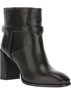 DIOR Black leather Urbaine boot