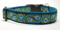 Hey, I found this really awesome Etsy listing at http://www.etsy.com/listing/127244309/custom-dog-collar-peacock