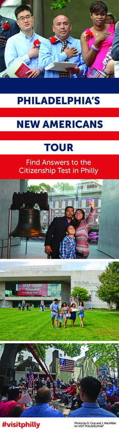 Philadelphia's New Americans Tour offers an insider's look at the people, places and events that shaped the country.