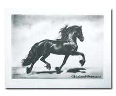 #Friesian Holland #Horse #art