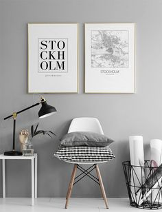 Stockholm, poster