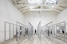"""Spain's """"Unfinished"""" - Winner of the Golden Lion at the 2016 Venice Biennale,UNFINISHED / curated by Iñaqui Carnicero & Carlos Quintáns. Spanish Pavilion at the 2016 Venice Biennale. Image © Laurian Ghinitoiu"""