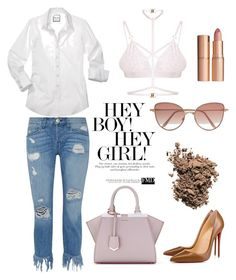 """На разборки"" by yana-miroshkina on Polyvore featuring Fendi, 3x1, Kamilla White, Christian Louboutin, Cutler and Gross, Dolce&Gabbana and Charlotte Tilbury"