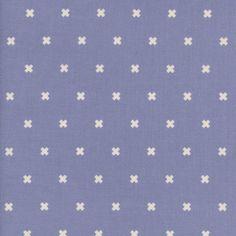 Cotton + Steel Basics - XOXO (Thistle) : Crimson Tate :: Modern Quilter