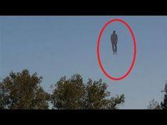 Flying Human Caught on Camera October 2015