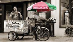 Rita's Icecream | Flickr - Photo Sharing! Caravan Shop, Italian Ice, Icecream, Gelato, Baby Strollers, Baby Prams, Ice Cream, Ice Cream, Prams