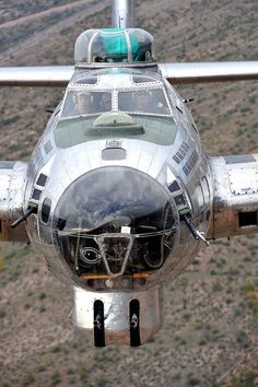 B-17G Means business.