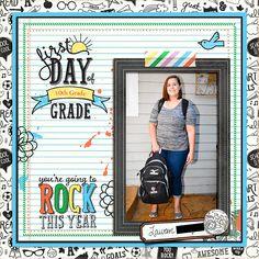 First+Day+of+10th+Grade - Scrapbook.com
