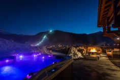 Magical Hot Tub Views at Chalet M in Morzine