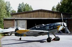 Finland - Air Force Messerschmitt Bf-109G-6.