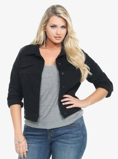 Torrid Women's Plus Size Denim Jacket