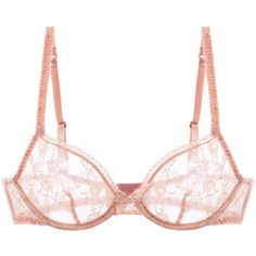 L'Agent by Agent Provocateur Monica Non Pad Plunge Bra ($49) ❤ liked on Polyvore featuring intimates, bras, lingerie, underwear, gold, bow lingerie, underwire bras, bow bra, padding bra and gold bra