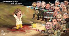 CULTURA,   ESPORTE   E   POLÍTICA: Dilma, mártir da democracia
